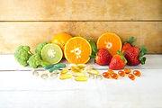 Fruits legumes et complements alimentaires