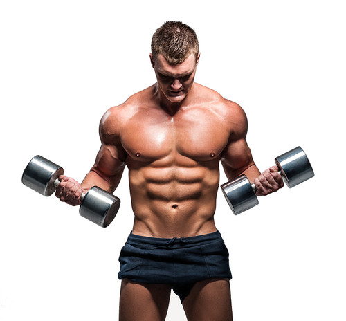 sportif adepte de la musculation