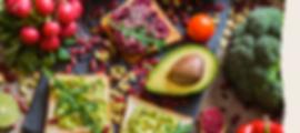 Fruits, légumes et graines pour l'alimentation sans viande des vegan