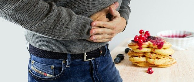 Mal au ventre suite a une intolérance alimentaire