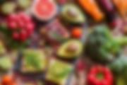 Régime vegan à base de fruits, légumes et légumineuses