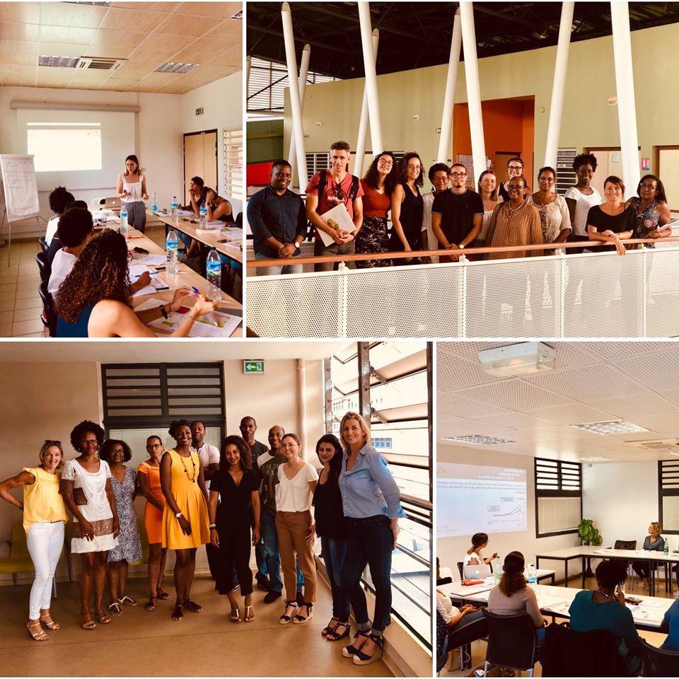 formations nutrition aux Antilles avec nos stagiaires pharmaciens et préparateurs en pharmacie