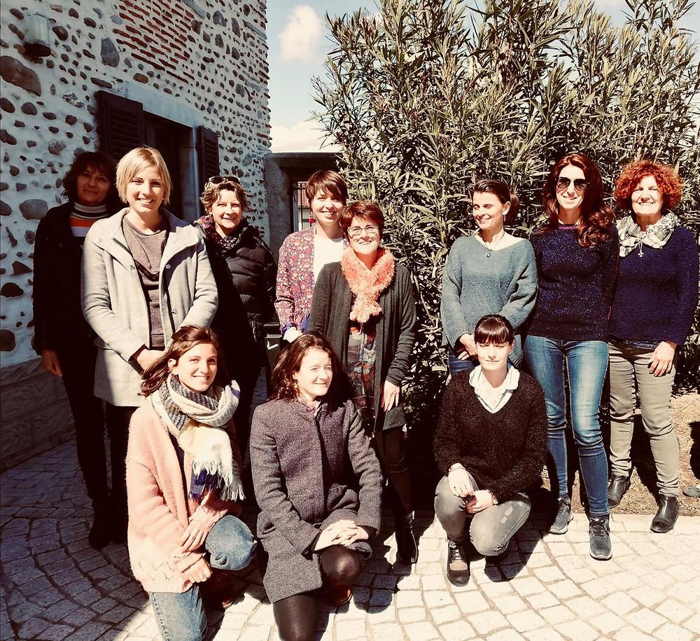 Professionnels de santé en formation sur l'alimentation végétarienne à Pau