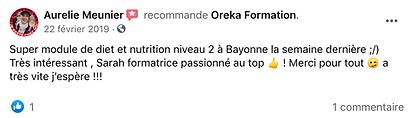 Super module de diététique et nutrition à Bayonne. Très intéressant pour l'officine