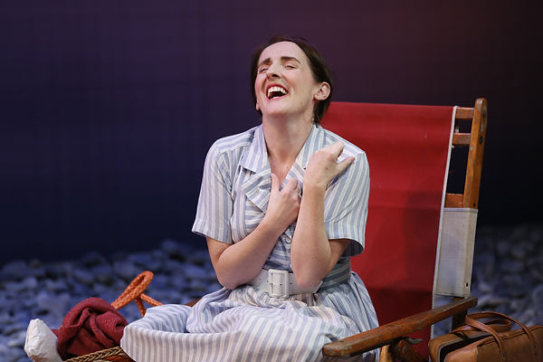 Aedin Moloney (Morag) in When I was a Girl I used to Scream and Shout by Sharman Macdonald - Fallen Angel Theatre's 2016 Off Broadway Premiere
