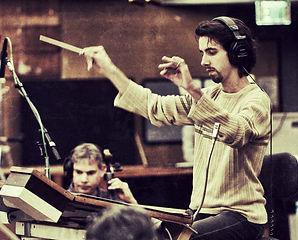 Nuno Conducting the Hollywood Recording