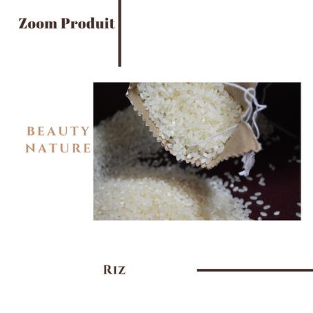 Le Riz, Ingrédient santé beauté