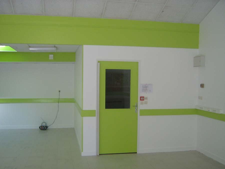peinture d'une salle de classe