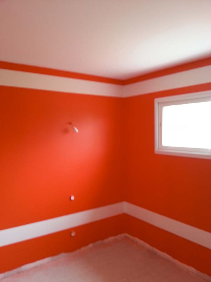 peinture décorative bureau