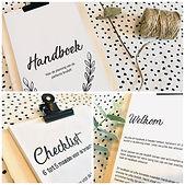 Handboek - voor het plannen van de perfecte bruiloft