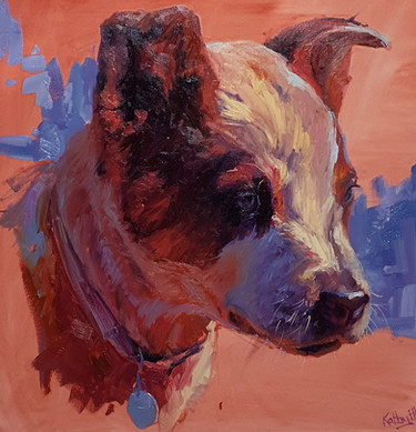 """the bluey  18"""" all sides, oil"""