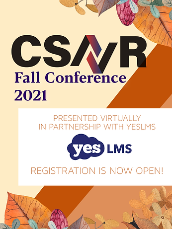 autumnal csavr fall conference banner click here to register fall 2021 virtual conference