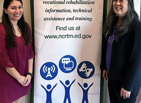 Learn about the  National Clearinghouse of Rehabilitation Training Materials (NCRTM) sponsored by th
