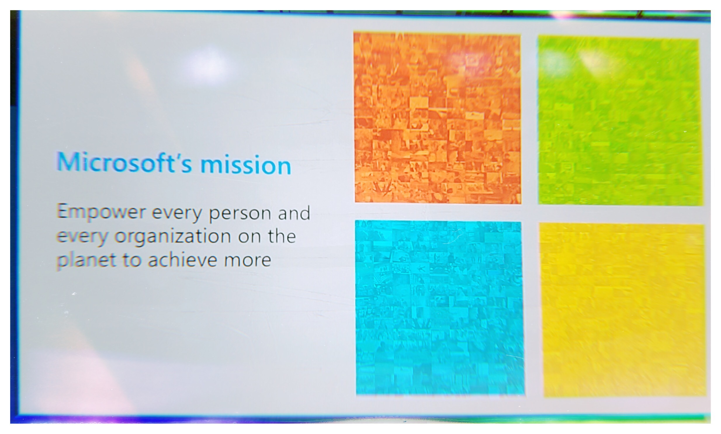 Microsoft Mission Statement