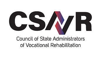CSAVR logo council of state administrators of vocational rehabilitation