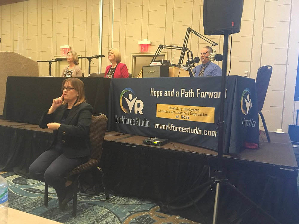 photo of vr workforce studio live broadcast in Greenville