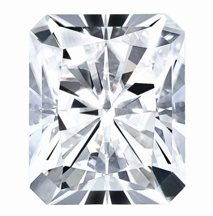 MOISSANITE, Pure Light, E, F Color, 5X3MM OCT RADIANT CUT