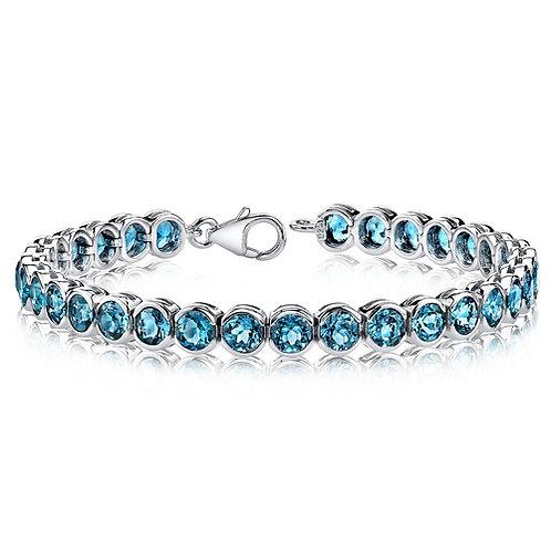 14kt Gemstone Bracelet