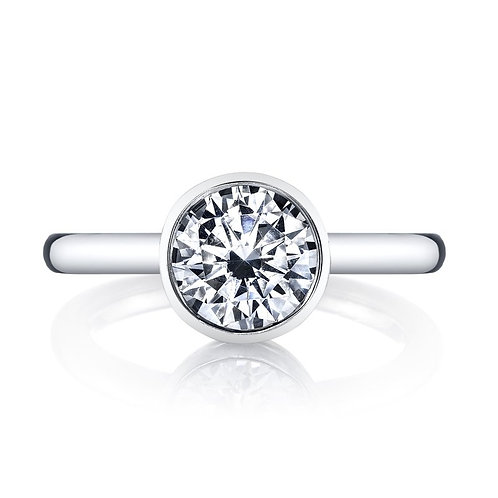 14kt Solitaire Engagement Ring