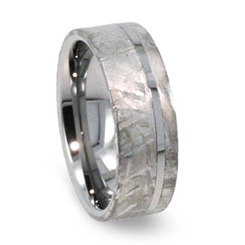 Meteorite tungsten band