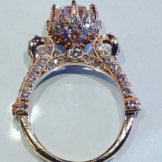 Side view of #engagement #ring #diamond
