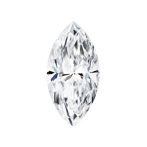 0.20 Carats, Charles & Colvard Forever One™ G-H-I Marquise Moissanite, 6 x 3 MM