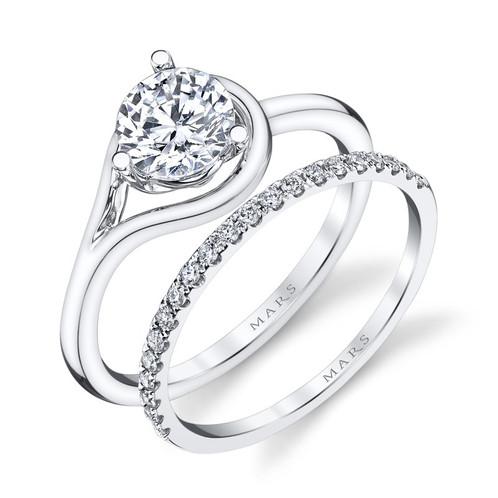 Modern Design Engagement Ring