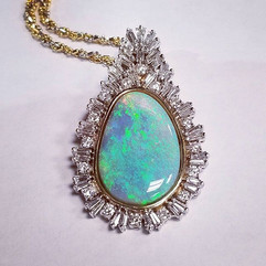 Opals and diamond masterpiece! #opals #d