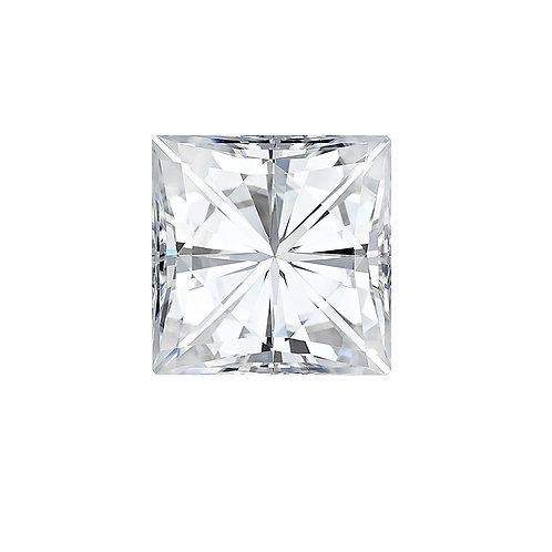 0.50 carats, Charles & Colvard Forever One™ D-E-F Square Moissanite, 4.50 MM