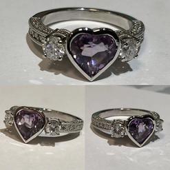 Beautiful custom made ring by tresor. He