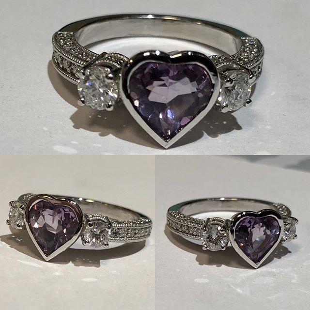 Beautiful custom made ring by tresor  He