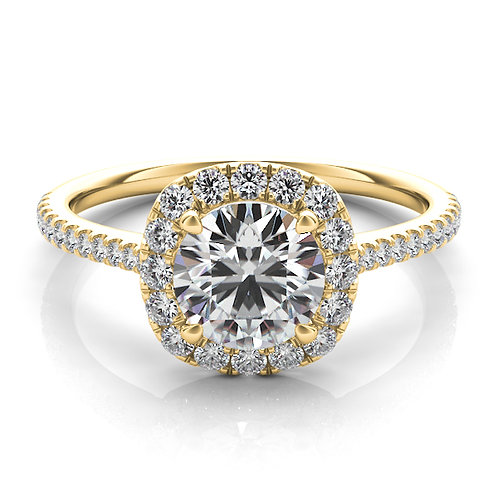 Yellow Gold  Design Engagement Ring