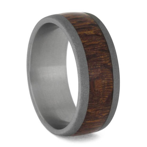 Titanium Wood  Ring