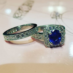 Something about sapphires and diamonds..