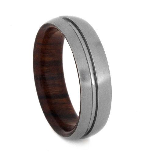 Titanium wood band
