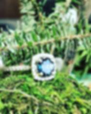Beautiful handmade colorstone diamond ri