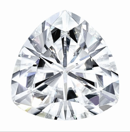 1.44 CARATS, MOISSANITE, Pure Light, E, F Color, 8MM TRILLION