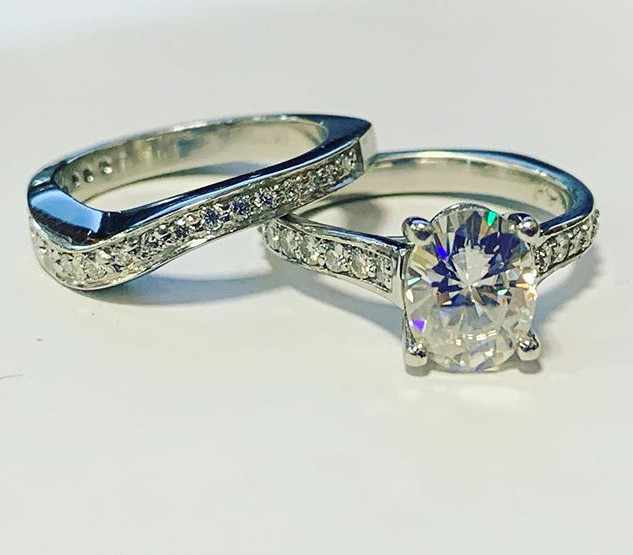 Some platinum love for this engagement s