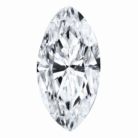 1.58 CARATS, MOISSANITE, Pure Light, E, F Color, 12X6MM MARQUISE