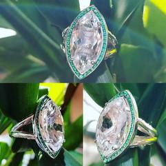 Custom creation by tresor jewelers! We u