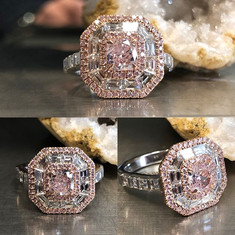 Extremely rare natural pink diamond 💎 c