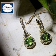Rare demantoid garnets in this Tresor or