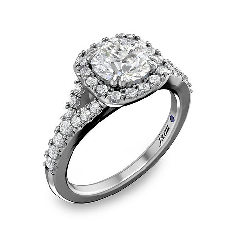 Engagement Ring # S2911