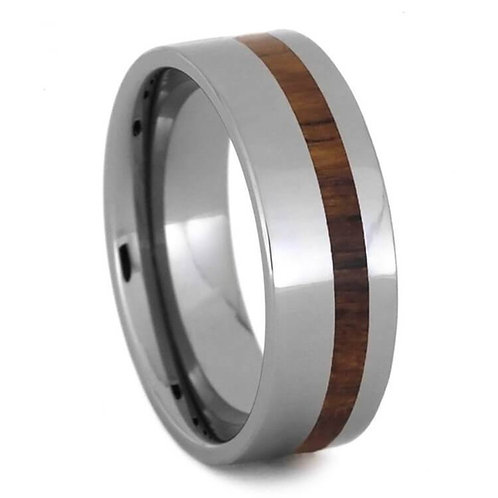 Tungsten wood band