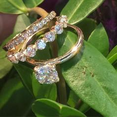 Engagement ring set! Tresor originals! #