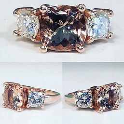 A absolutely gorgeous morganite natural