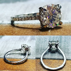 We are elated with this custom ring desi