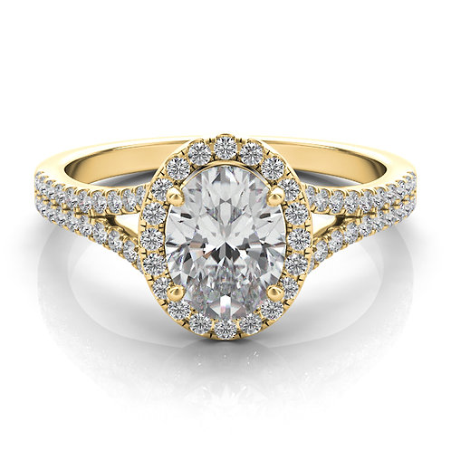 Yellow Gold  Design Engagement Ring