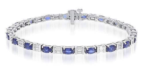 14kt Diamond Bracelet