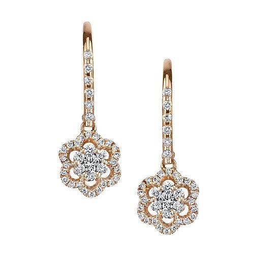 14kt Gold Designer Earrings